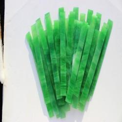Opalescentglas (Tiffany Glas) grün für Mosaiktechnik