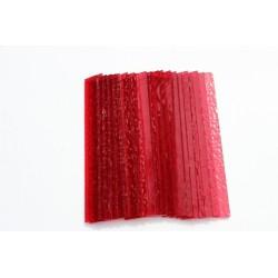 Opalescentglas (Tiffany Glas) Rot für Mosaiktechnik