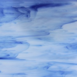 Tiffany Glas Blau - Unikat