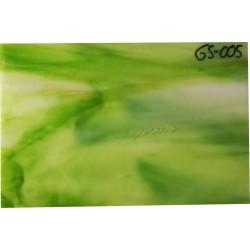 Opalescentglas (Tiffany Glas) grün