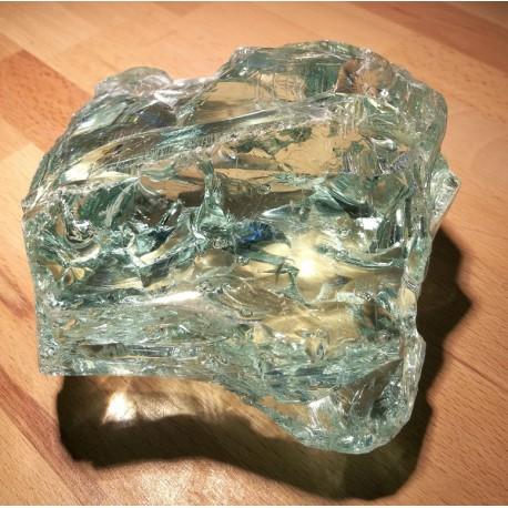 Float Glas Brocken - transparent