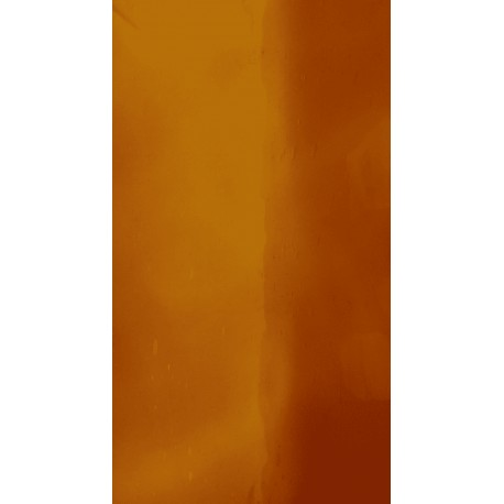 Antikglas Orange mundgeblasen