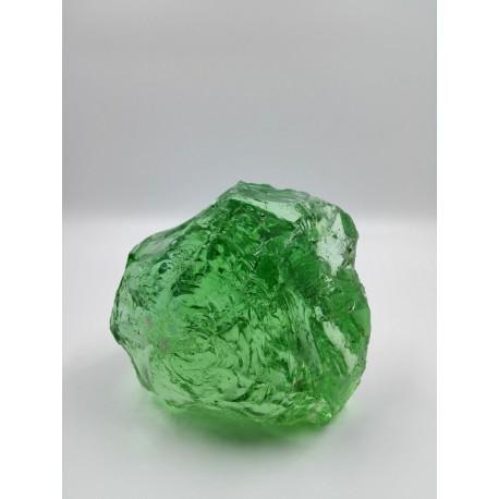 Float Glas Brocken - grün