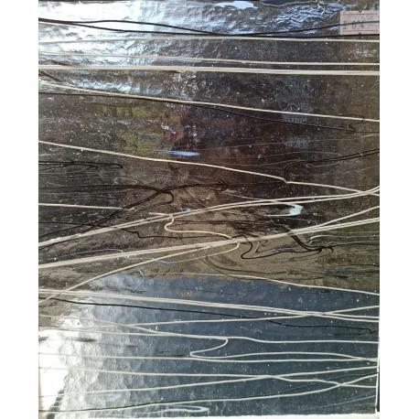 Bullseye - 4118 - transparent weiß schwarz