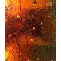Uroboros - fractured streamer- Bernstein Gelb - mixed color